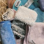 reusable makeup removing cloths, makiazo sluostes, valancios, vandeniu, daugkartines, zero waste